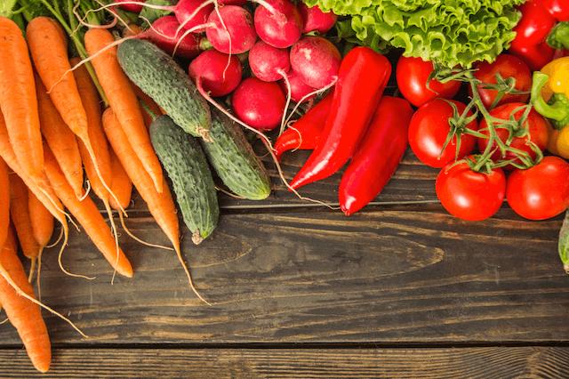 Paleo Diet - Fresh Vegetables