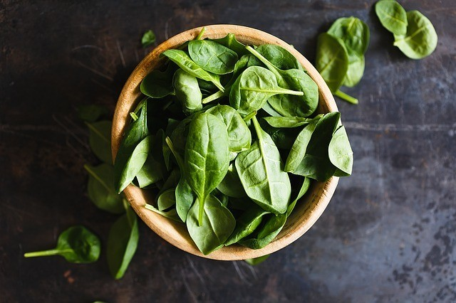 Paleo Diet Food - Spinach