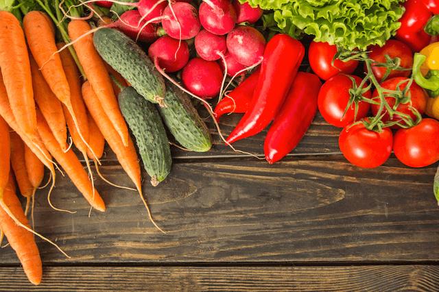 Dehydrated Food - Fresh Vegetables
