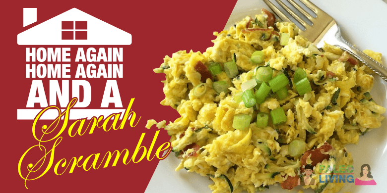 Paleo Recipes - Scrambled Egg & Zucchini