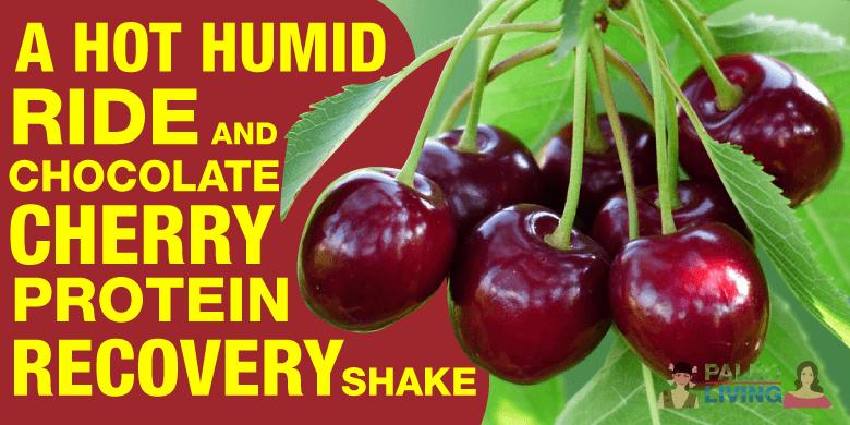 Paleo Lifestyle - Cherry Protein Recovery Shake