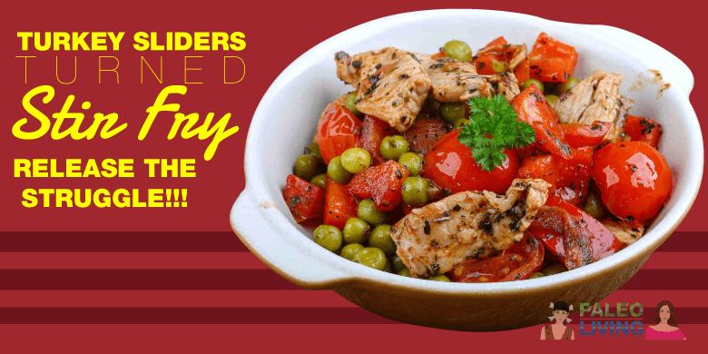 Paleo Recipes - Turkey Slider Stir Fry