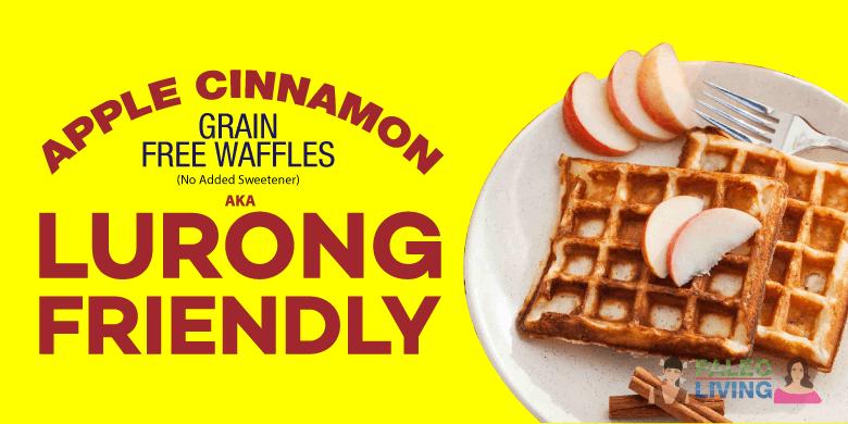 Paleo Recipes - Apple Cinnamon Grain Free Waffles