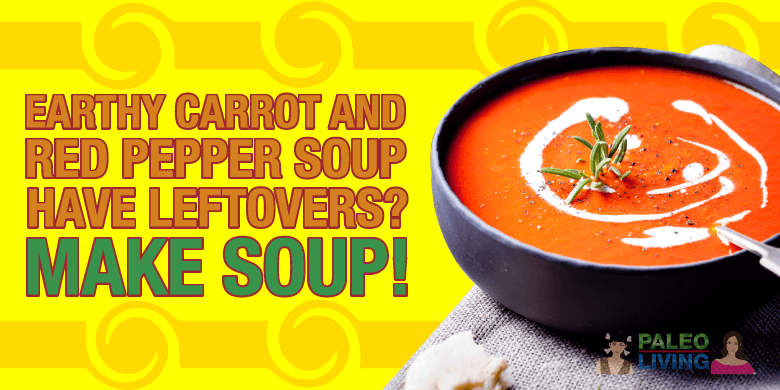 Paleo Recipes - Carrot And Red Pepper Soup