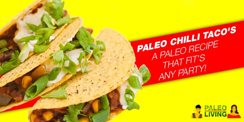 Paleo Chili Taco's