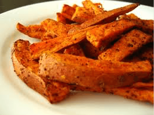 Approved Paleo Food - Sweet Potato Chips