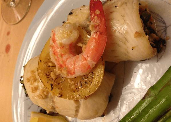 Paleo Recipes - Baked Stuffed Tilapia