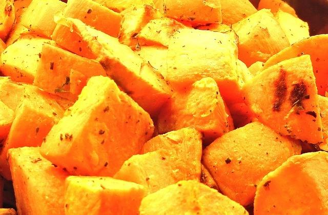 Paleo Diet Food - Slow Cooked Sweet Potatoes