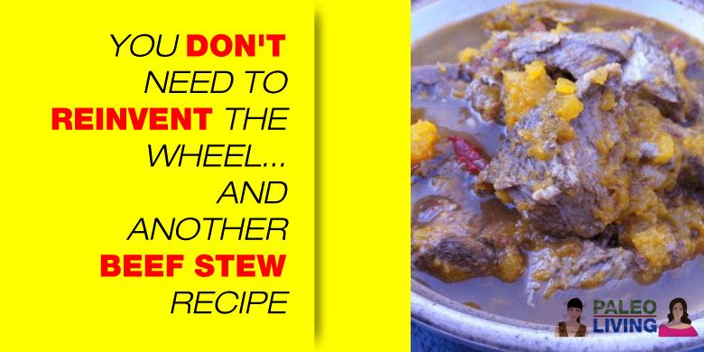 Paleo Recipe - Beef Stew