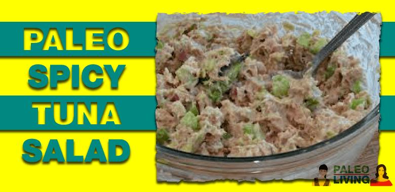 Paleo Recipe - Spicy Tuna Salad