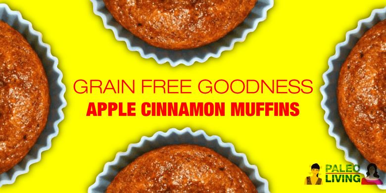 Paleo Recipe - Apple Cinnamon Muffins