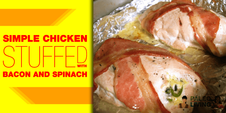 Paleo Recipe - Stuffed Chicken
