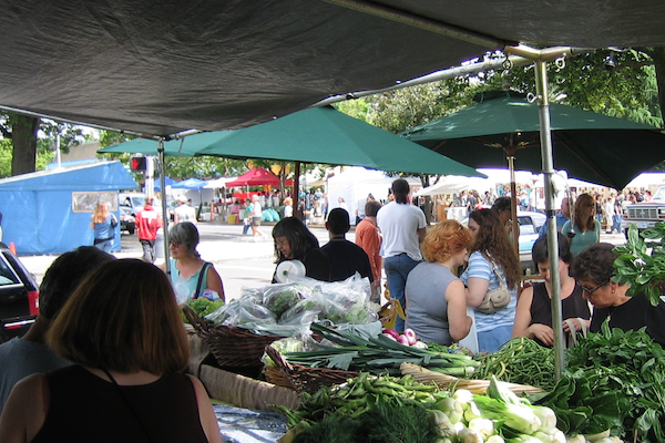 Visit Your Local Farmer's Market At The End Of The Day