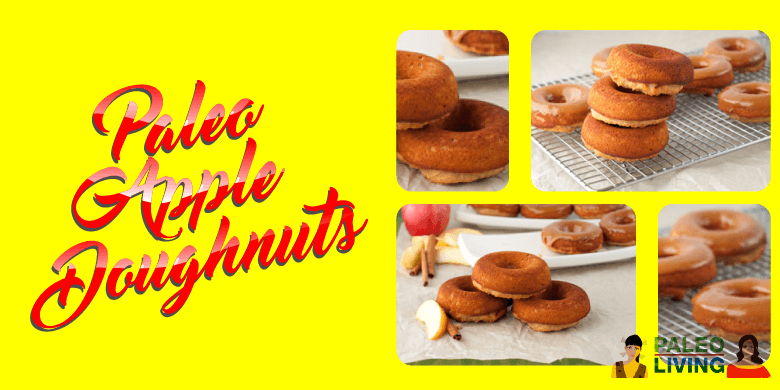 Paleo Recipe - Apple Doughnuts