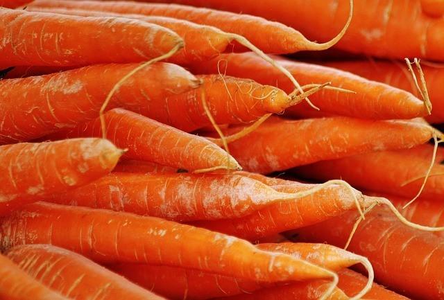 Sweet Potatoes Contain Carotenoids Like Carrots