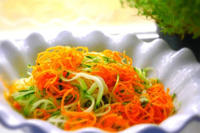 Paleo Recipe - Spiral Vegetables