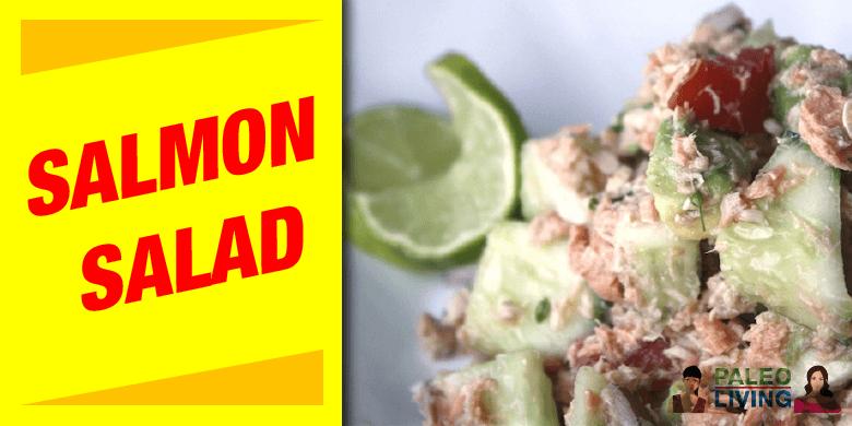 Paleo Recipe - Salmon Salad