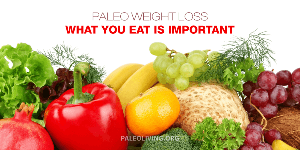 Paleo Weight Loss