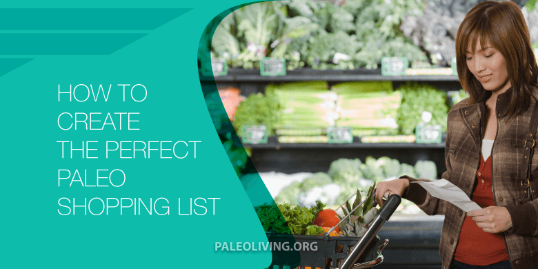 Paleo Shopping List