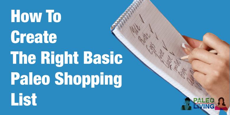 Basic Paleo Shopping List