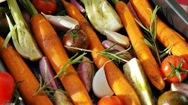Paleo Diet Food List - Vegetables